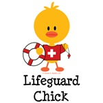 Lifeguard Chick T-shirt Tees and Gifts