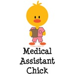 Medical Assistant Chick T shirt Tees Gifts