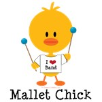 Mallet Chick T-shirts Tees and Gifts