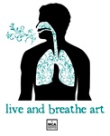 Live and Breathe Art.