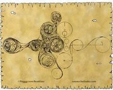Celtic Spiral Manuscript Art T-Shirts & Gifts