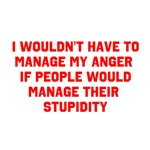 Anger vs Stupidity