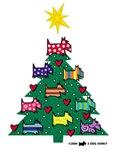 SCOTTISH TERRIER CHRISTMAS TREE