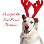 Rudolph the Red-Nosed Retriever