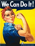 Vintage Rosie the Riveter