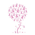 Pink Ribbon Breast Cancer Tree
