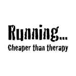 Running... Cheaper than therapy