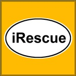 iRescue White Oval