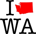 I Love WA Washington