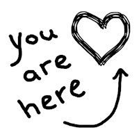 You Are Here (heart)
