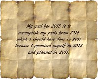 My Goal for 2015