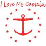 I Love My Captain T-Shirts
