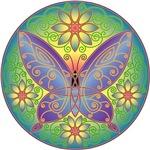Celtic Butterfly (violet)