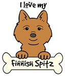 Finnish Spitz Cartoon