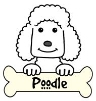 Poodle Cartoon T-Shirts and Gifts