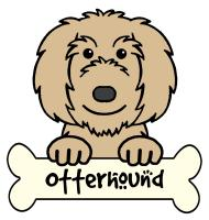Otterhound Cartoon T-Shirts and Gifts