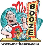 Mr. Booze Behind the Bar