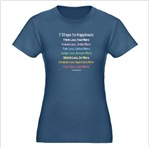 7 Steps to Happiness - Dark Casual Apparel
