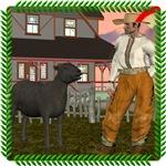 Baa, Baa, Black Sheep and Farmer