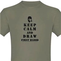 Keep Calm Rambo