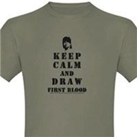 Keep Calm Rambo