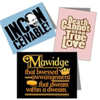 Princess Bride Greeting Cards and Postcards