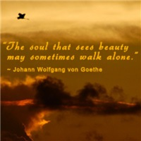 The Soul That Sees Beauty...