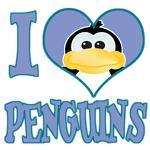 I Love (Heart) Penguins