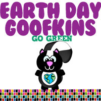 Earth Day/Go Green Goofkins