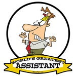 WORLDS GREATEST ASSISTANT MALE CARTOON