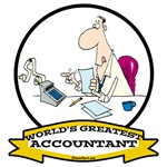 WORLDS GREATEST ACCOUNTANT CARTOON