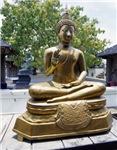 Gold Budha Greeting