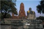 Stone Buddha Meditating