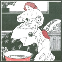 Bathing Baby