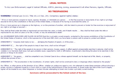 Legal Notice #2 Landscape