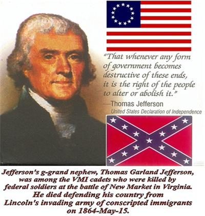 Jefferson's G-Grand Nephew-Men's Clothing