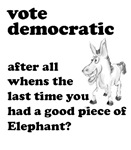 Vote Democractic