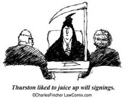 Juicing Will Signing