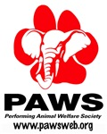 PAWS Logo on front and Nick & Gypsy on back - Adul