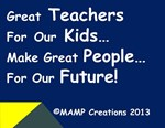 Great Teachers for our Kids #3 By MAMP Creations!