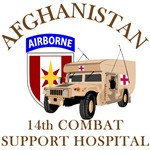 14th Combat Support Hospital - Afghanistan Humvee