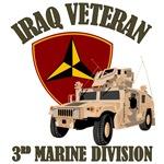 3d MarDiv Iraq - Humvee
