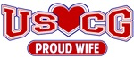 T-shirts, hats, mugs, stickers and gift items for the Coast Guard Wife