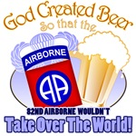 God Created Beer - 101st Airborne