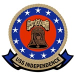 T-shirts, hats, stickers & gifts with the USS Independence