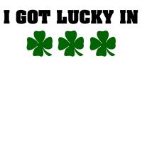 I got lucky in