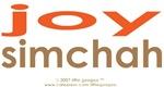 Jewish & English: Joy, Simcha