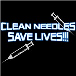 Clean Needles Save Lives!!!