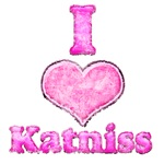 Vintage I Heart Katniss 1