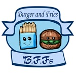 Burger and Fries BFFs